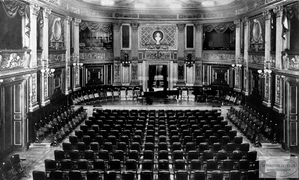 Neues Gewandhaus zu Leipzig - (Kammermusiksaal) 1886